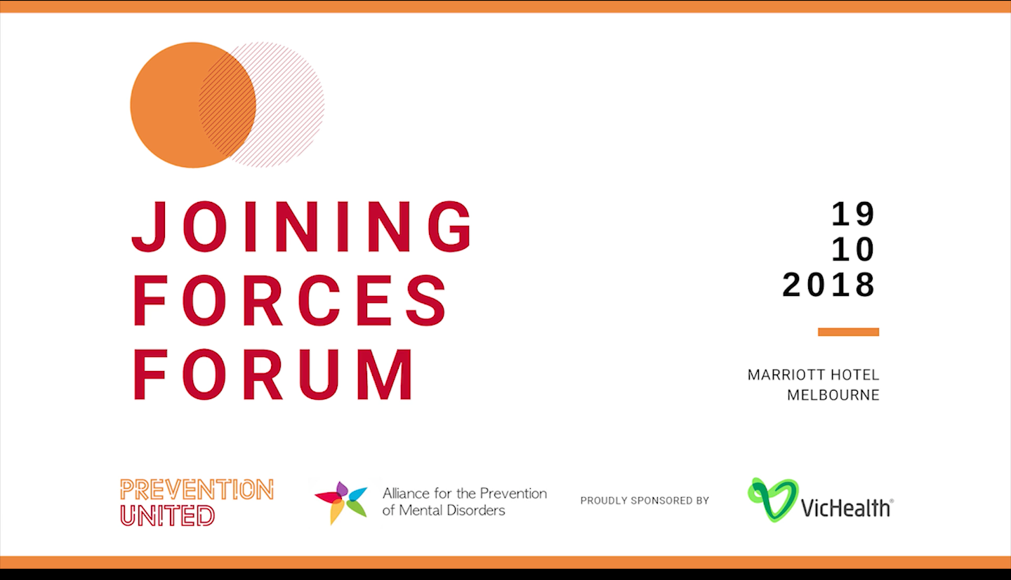Joining Forces Forum – Overview